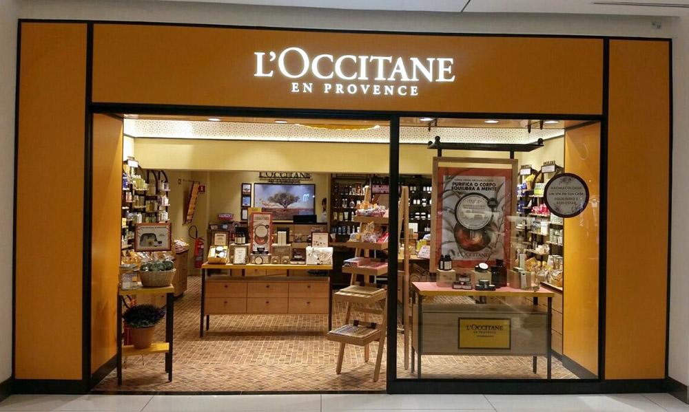 Loccitane - Shopping Mueller Curitiba